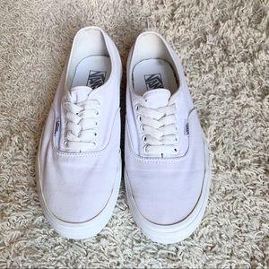 Vans white unisex
